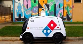 Domino's будет доставлять пиццу беспилотными автомобилями