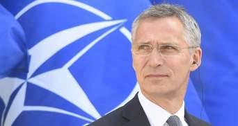 Столтенберг заявив, що Росія не має права втручатись у вступ України в НАТО