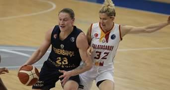 Українка Аліна Ягупова стала найкращою баскетболісткою Євроліги