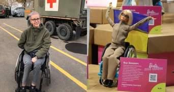 Известный волонтер Яна Зинкевич стала моделью для куклы Barbie: впечатляющие фото
