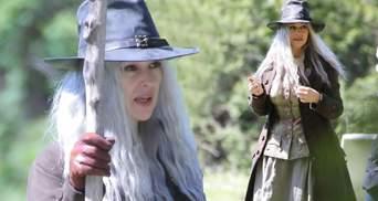Моніка Беллуччі кардинально змінились для зйомок фільму про відьму: фото