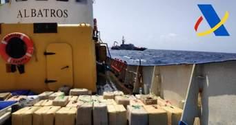 В Іспанії затримали українських моряків: на їхньому судні виявили 18 тонн наркотиків