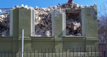 Знищення будинку Уткіна у Києві: Кличко каже, що навіть штраф не можуть виписати