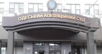 В Одеському апеляційному суді проводять обшуки: там зараз розглядають справу Стерненка