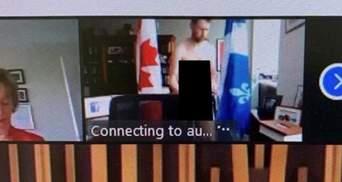 """""""Это была досадная ошибка"""": канадский депутат появился полностью голым на онлайн-заседании"""