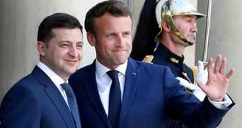 Зеленский прибыл в Париж: встречу с Макроном уже начали – видео