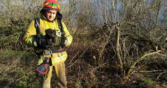 Витягли з дна 15-метрового колодязя: на Дніпропетровщині ДСНС врятували цуценя – фото