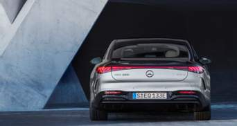 """""""Как космический корабль"""": Mercedes-Benz показала новый электрический седан – фото"""