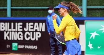 Свитолина принесла сборной Украины победу над Японией в Кубке Билли Джин Кинг