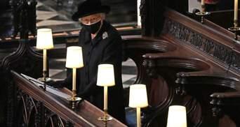 Королева Елизавета II оставила на гробу принца Филиппа рукописную записку с милым прозвищем