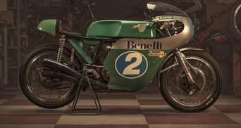Байк з вражаючою історією: як через майже 50 років виглядає Benelli 350 – фото