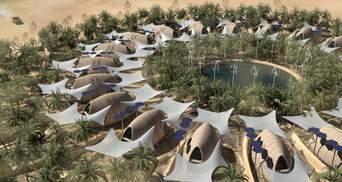 Вижити після кліматичних змін: архітектори розробили концепцію поселення у пустелі