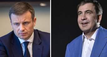"""""""Шулер і нікчема"""": Марченко та Саакашвілі обмінялися образами"""