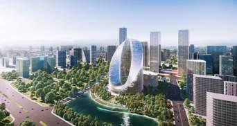 Волшебный глаз: инновационный небоскреб для китайского производителя смартфонов