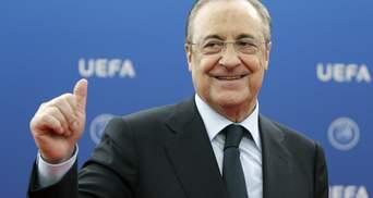 Глава Суперліги Перес відповів на погрози УЄФА: клуби можуть виключити з Ліги чемпіонів