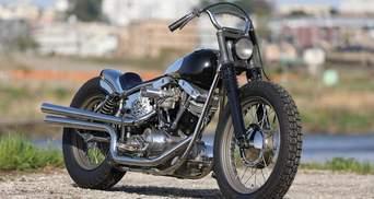 Мощный и минималистичный: мастера прокачали 50-летний Harley-Davidson FLH Shovelhead – фото