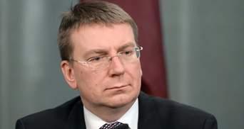 """У разі війни з Києвом нинішні санкції здадуться Москві """"легкою прогулянкою"""", – глава МЗС Латвії"""