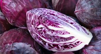 Ученые создали натуральный голубой пищевой краситель из краснокочанной капусты