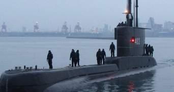 Поблизу Балі зник підводний човен ВМС Індонезії з 53 людьми на борту