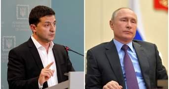В ОПУ пояснили, чому Зеленський запропонував Путіну зустріч на Донбасі