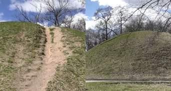 У Чернігові руйнуються древні кургани: чи можна врятувати пам'ятки природи
