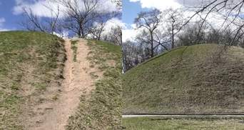 В Чернигове разрушаются древние курганы: можно ли спасти памятники природы