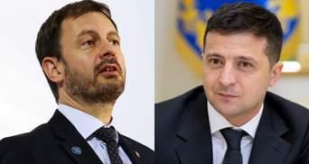 Зеленский поговорил по телефону с премьером Словакии: о чем говорили