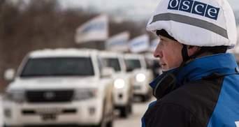 ОБСЕ обнаружила десятки вагонов с неизвестным грузом на оккупированной границе Украины