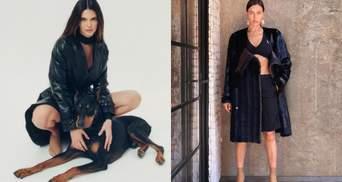 Джіджі Хадід, Кендалл Дженнер та Ірина Шейк приміряли одяг з нової колекції Burberry: фото