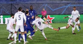 Реал і Челсі розписали результативну нічию у півфіналі Ліги чемпіонів: відео