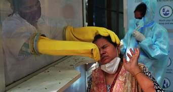 Світовий рекорд COVID-19 зафіксували в Індії: 314 тисяч хворих