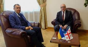 Посол Грузії повернувся до Києва: його відкликали через призначення Саакашвілі