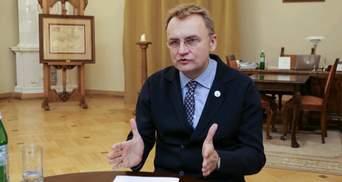 Садовий підтримав накладення спецмита на імпорт автобусів з Білорусі