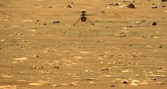 Второй полет на Марсе: аппарат NASA снова поднялся в воздух на другой планете