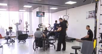 Уникальные тренажеры и бесплатная помощь: США помогают ветеранам АТО встать на ноги – видео