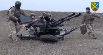 Знищували повітряні цілі: ЗСУ влаштували нові навчання біля окупованого Криму