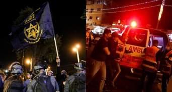 В Єрусалимі трапились жорстокі сутички між євреями та палестинцями: десятки поранених – відео
