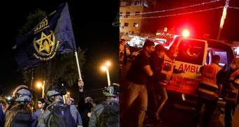 В Иерусалиме произошли столкновения между евреями и палестинцами: десятки раненых – видео