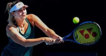 Кирстя остановила Костюк в 1/2 финала турнира в Стамбуле