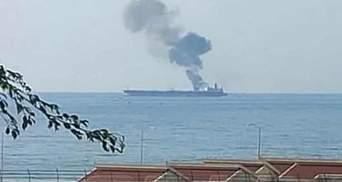 Иранский танкер возле Сирии атаковали с дрона: есть погибшие