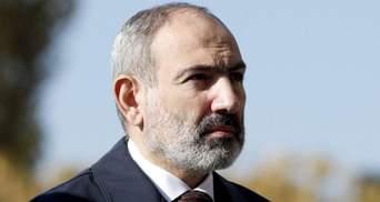 Вірменський прем'єр Пашинян подає у відставку