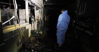 Страшный пожар в больнице в Багдаде: количество жертв возросло до 82