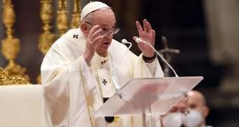 Это момент стыда, – Папа Римский о гибели 130 человек в Средиземноморье