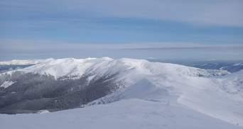 Карпатское высокогорье снова покрыло снегом: последствия внезапного похолодания
