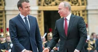 Макрон поговорил с Путиным и призвал его отвести войска от Украины