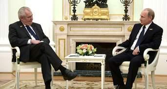 У Сенаті Чехії заговорили про держзраду президента Земана на користь Росії