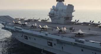 Зайдут в Черное море: крупнейшая авианосная группа ВМС Великобритании отправляется в поход