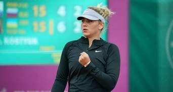 Костюк с сокрушительной победы над россиянкой стартовала на турнире в Мадриде