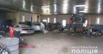 В Харькове поймали всеукраинских автоугонщиков: они работали на криминального авторитета