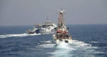 Корабль США открыл предупредительный огонь из-за Ирана: видео